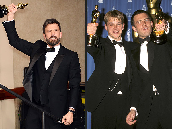 ben affleck then & now