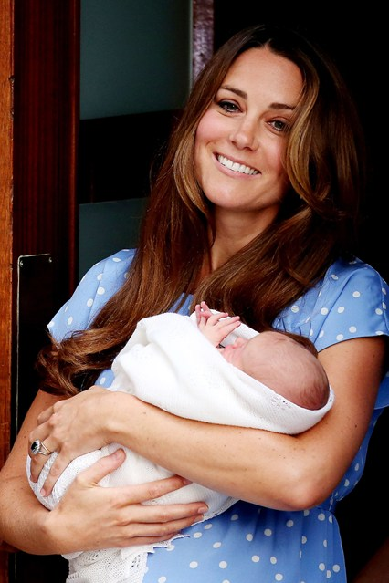 kate + baby